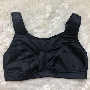 WingsLove Black Bra Size 34C